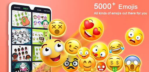 ❤️Emoji keyboard - Cute Emoticons, GIF, Stickers 3.4.2542 screenshots 1