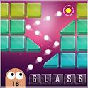 Brick Breaker Glass : Shoot the Ball & Blocks icon