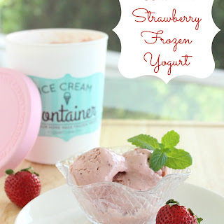 Ultimate Strawberry Frozen Yogurt.