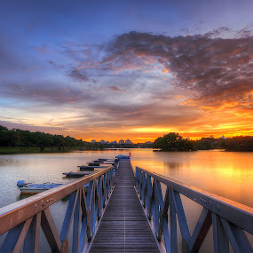 The West Horizon by Mohd Tarmudi - Landscapes Sunsets & Sunrises ( putrajaya )