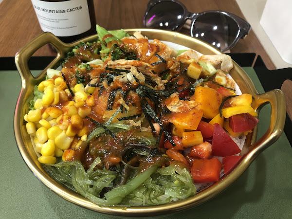 菜色豐富,低卡少油,超級健康又豐盛