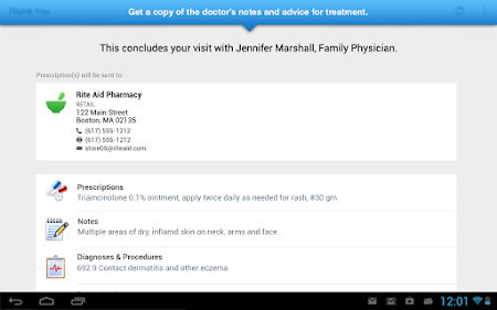 LiveHealth Online Mobile 8.2.0.040_08 screenshot 172150