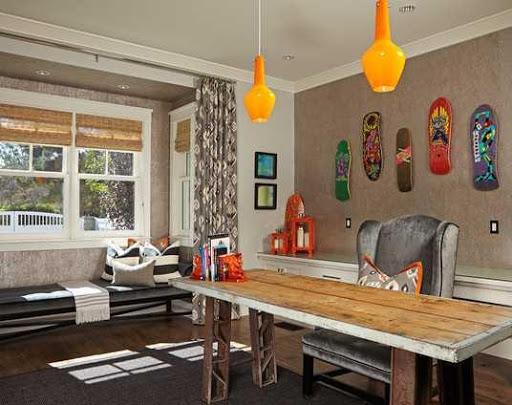 ホームオフィスデザインのアイデア