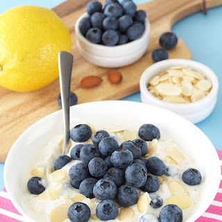 Blueberry Lemon Overnight Oats.