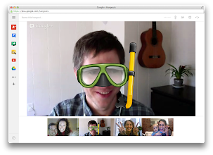 Photo: Hangouts: Sidebar collapsed