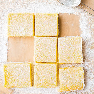 Meyer Lemon Squares.