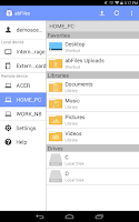 Screenshot of abFiles (Acer Remote Files)