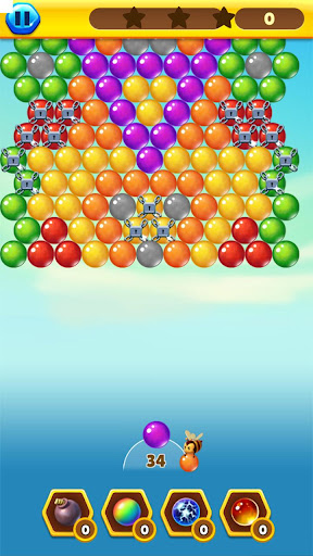 Bubble Bee Pop - Colorful Bubble Shooter Games android2mod screenshots 6