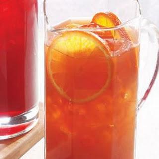 Orange-Earl Grey Iced Tea.