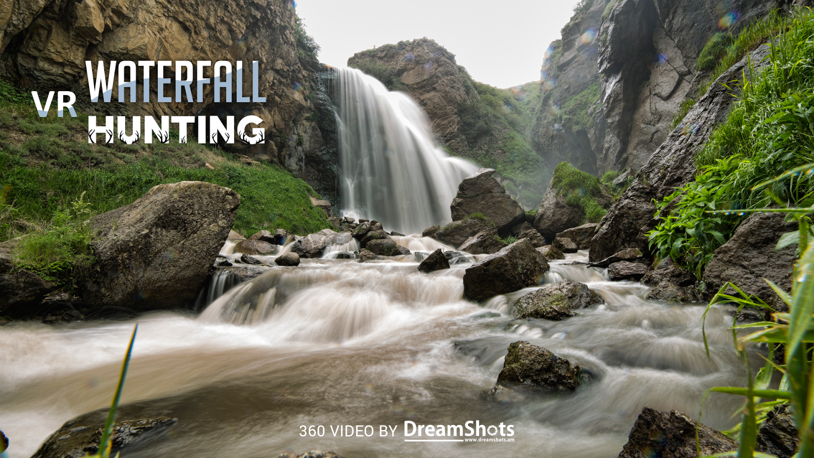 Waterfall Hunting VR Cardboard- screenshot
