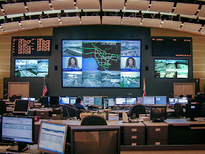 Photo: Caltrans District 7, Los Angeles: An example of a control room project.