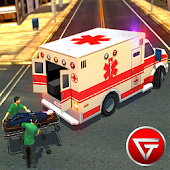 Ambulance Rescue sim 2017: Emergency 911 Driving