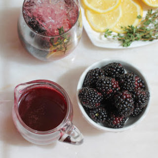 Lemon Thyme Syrup Recipes