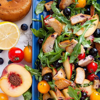 Blueberry Panzanella Salad.