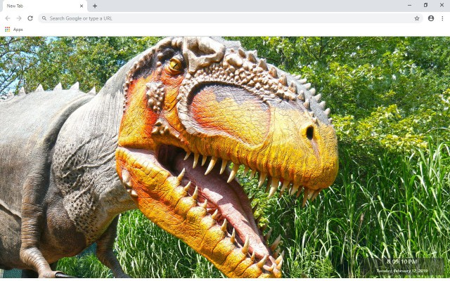 Giganotosaurus New Tab