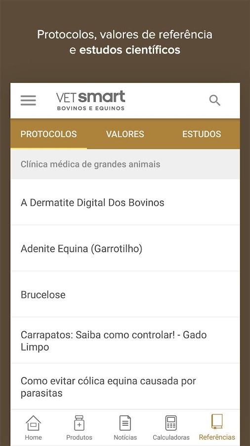 Vet Smart Bovinos e Equinos- screenshot