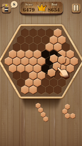 Wooden Hexagon Fit: Hexa Block Puzzle 1.0.1 screenshots 3