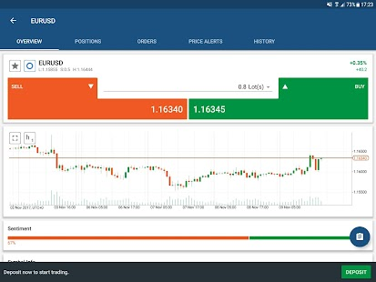 Kawase cTrader - Exchange CFDs- screenshot thumbnail