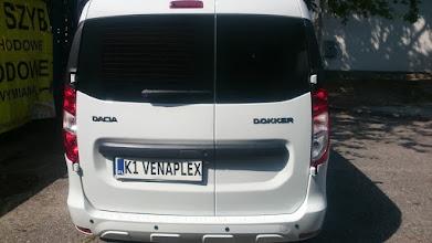 Photo: Dacia Dokker oklejanie przyciemnianie szyb kraków www.veanplex.pl
