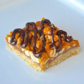 Honey Cashew Cookie Bars.