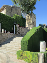 Photo: There were many sets of stairs which led to the doors of the fortress.