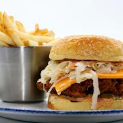 Crunchy Fried Chicken Sandwich