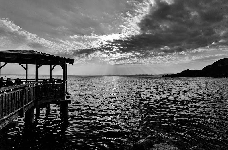 Tramonto sul lago di Garda di rosario51