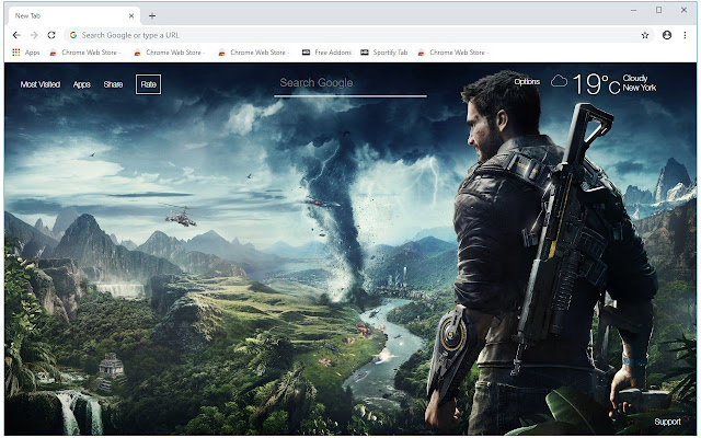 Just Cause 4 HD Wallpapers New Tab Themes