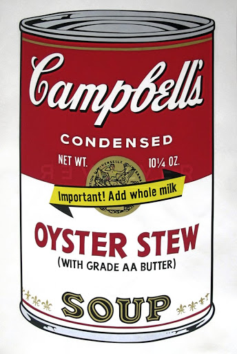 'Oyster Stew' by Andy Warhol