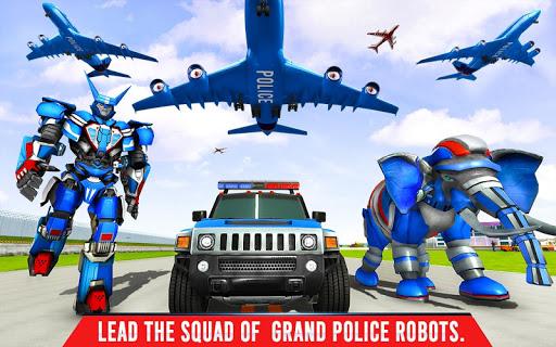 Police Elephant Robot Game: Police Transport Games 1.0.1 12