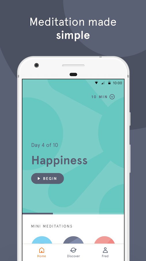 Headspace: Guided Meditation & Mindfulness-skjermdump