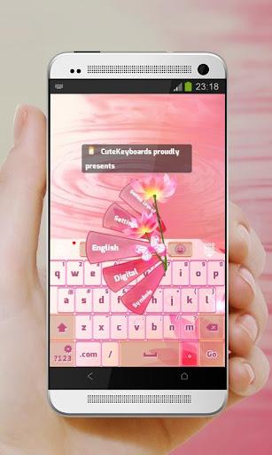 粉紅幻想 GO Keyboard