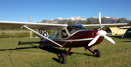 Photo: N2CQ at Smiley Creek, Idaho with the Sawtooth Range in the Background