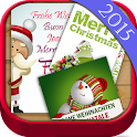 Christmas cards for children icon