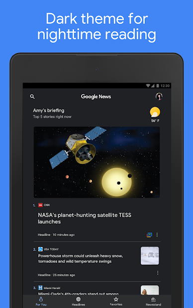 Google News: Top World & Local News Headlines screenshot 15