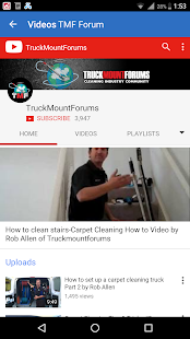 Truck Mount Forums- screenshot thumbnail