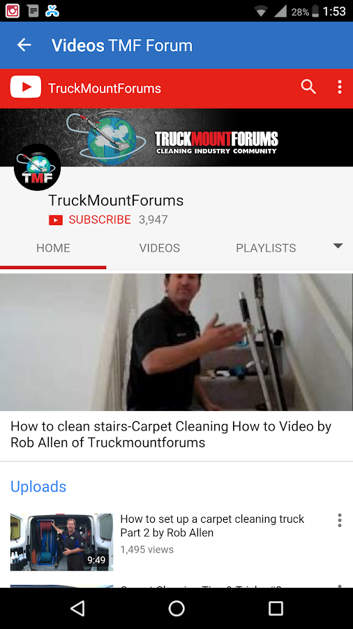 Truck Mount Forums- screenshot