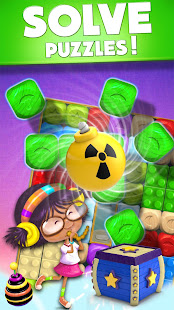Toy Box Party Blast Time – Match Crush Toon Cubes 3