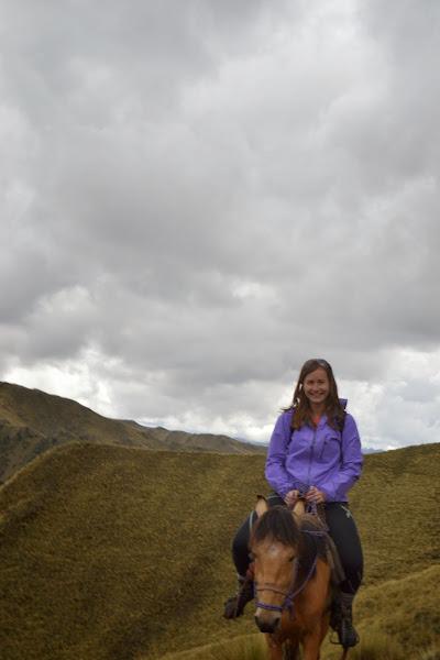 Sarah riding