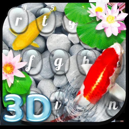 Live  3D Koi Fish Keyboard Theme 1.2.0