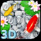 Live  3D Koi Fish Keyboard Theme icon
