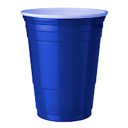 Blaue Becher (Blue Cups 16 oz.)
