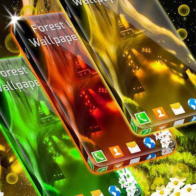 Forest Live Wallpapers 3D - screenshot