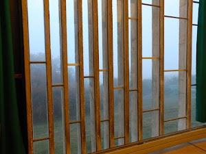 La Tourette - okna refektarza