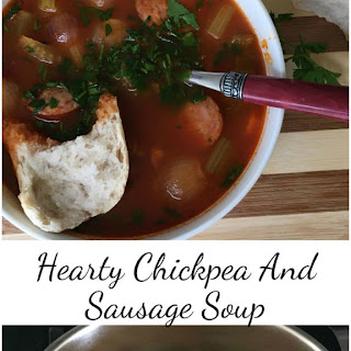 Hearty Chickpea and Sausage Soup