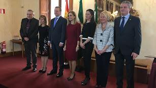 Los siete delegados de la Junta en Almería.