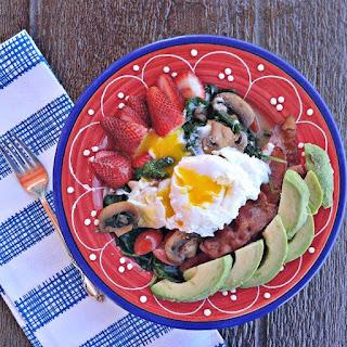 Caramelized Mushroom Breakfast Bowl - Paleo - Whole30 - Gluten Free - Dairy Free.