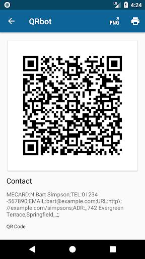 QRbot: QR code reader and barcode reader  screenshots 4