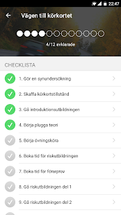 iKörkort- screenshot thumbnail