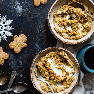 Gingerbread High Protein Oatmeal Recipe
